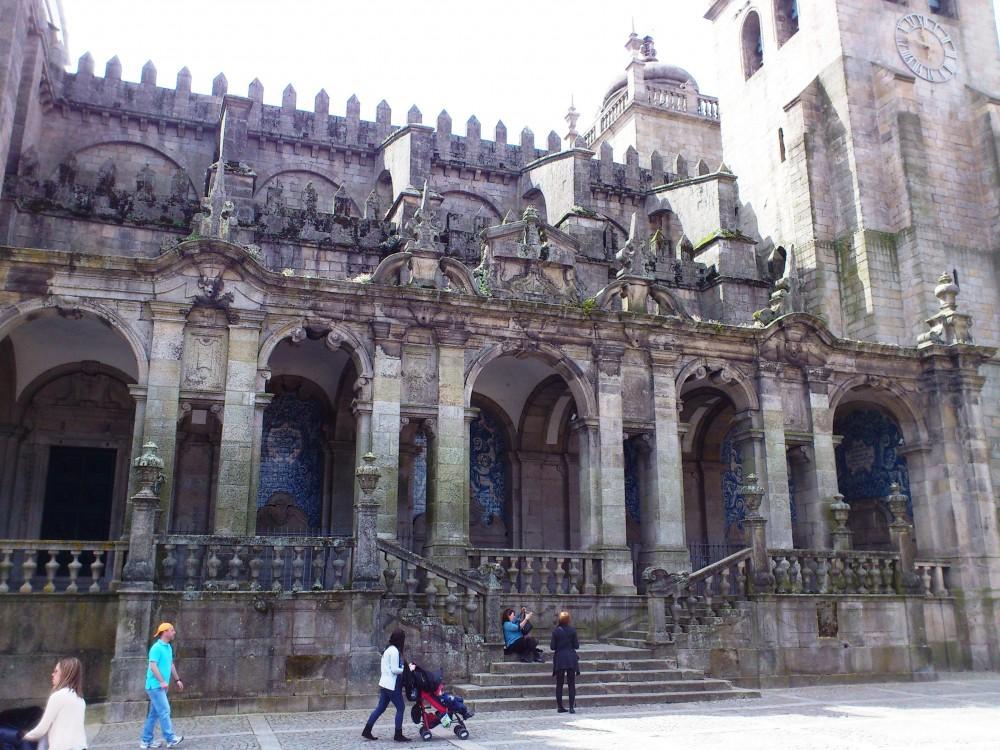 Кафедральный собор города Порто
