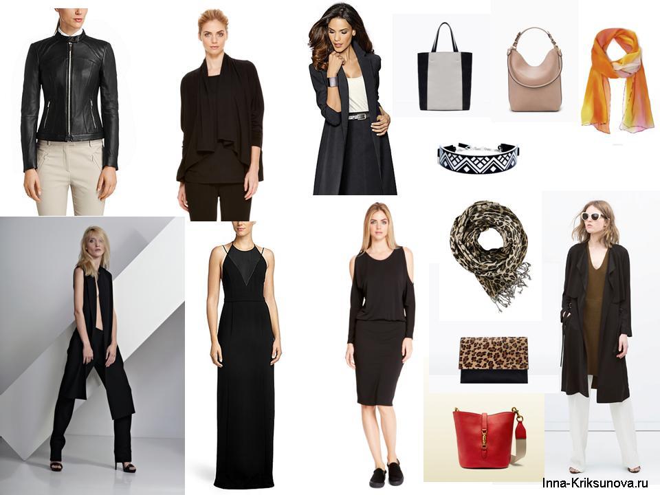 Черные платья 2015