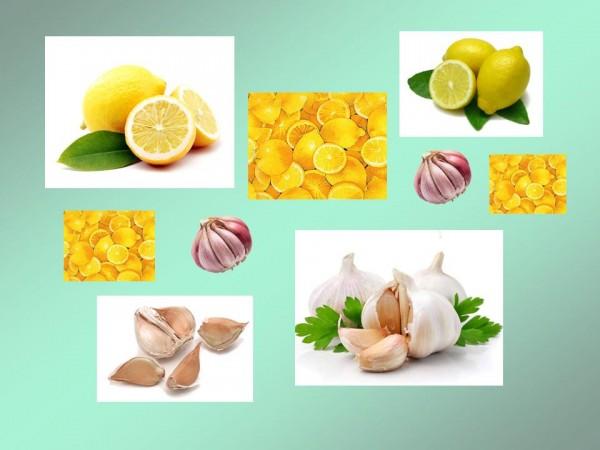 Чеснок и лимоны для чистки сосудов