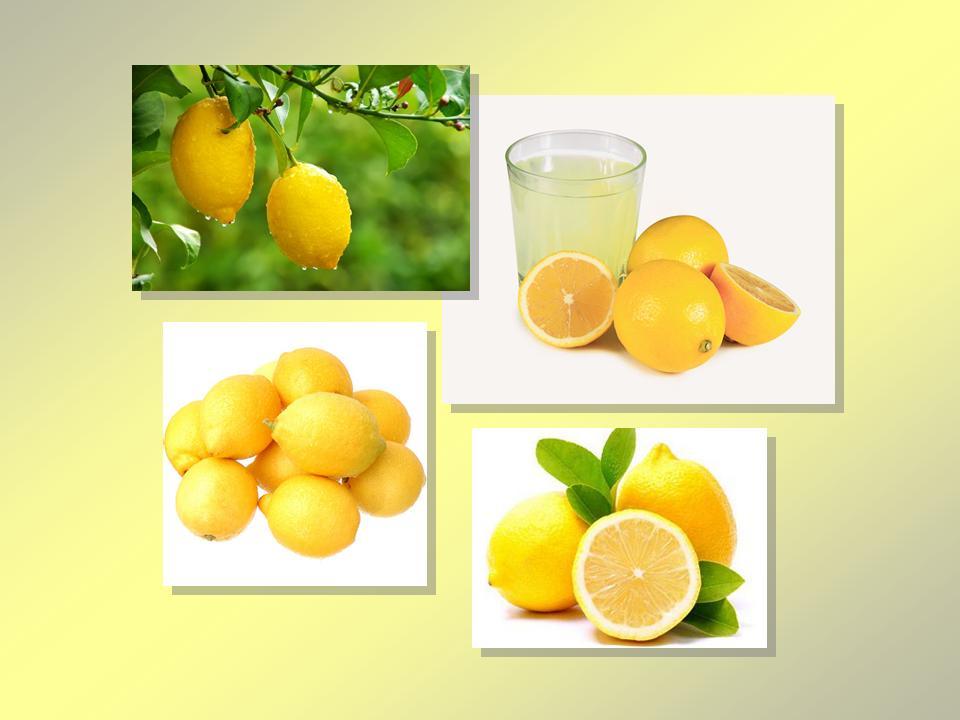 Лимоны. Лимонный сок