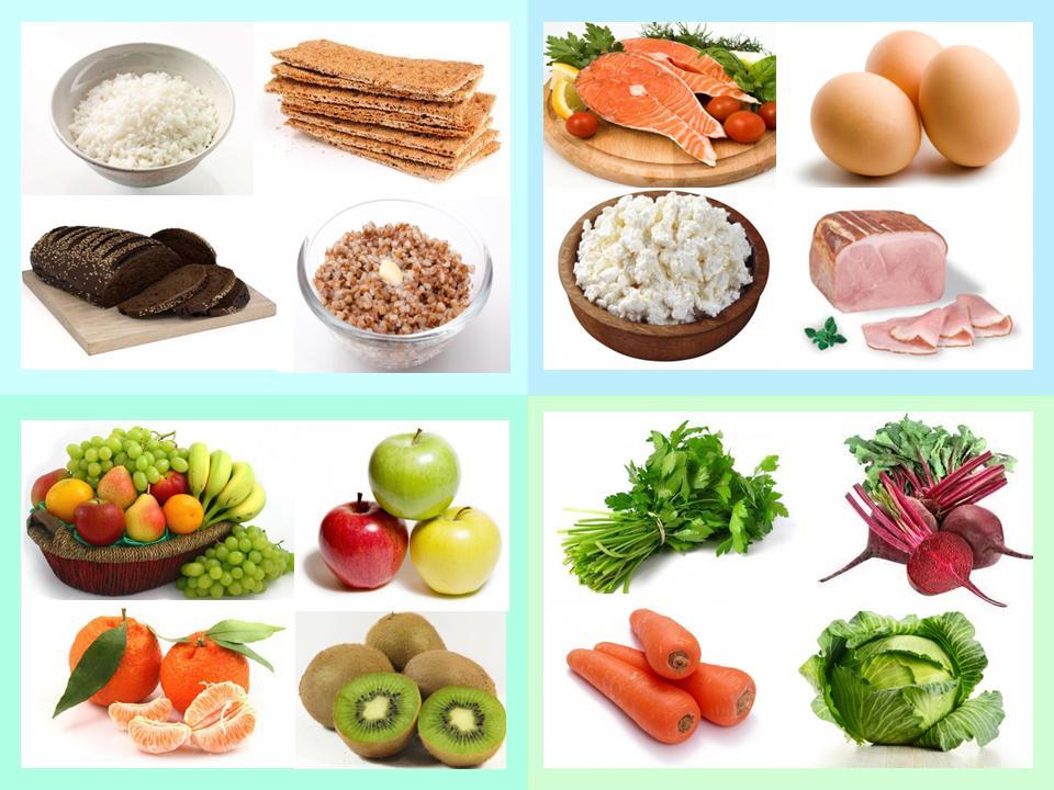 правильное питание постепенно