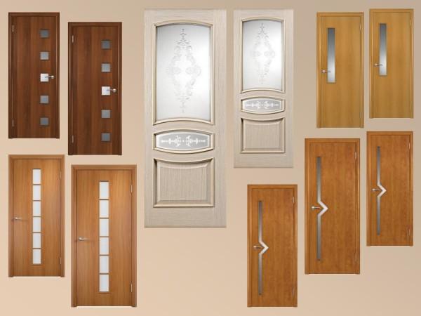 Двери межкомнатные с вставками