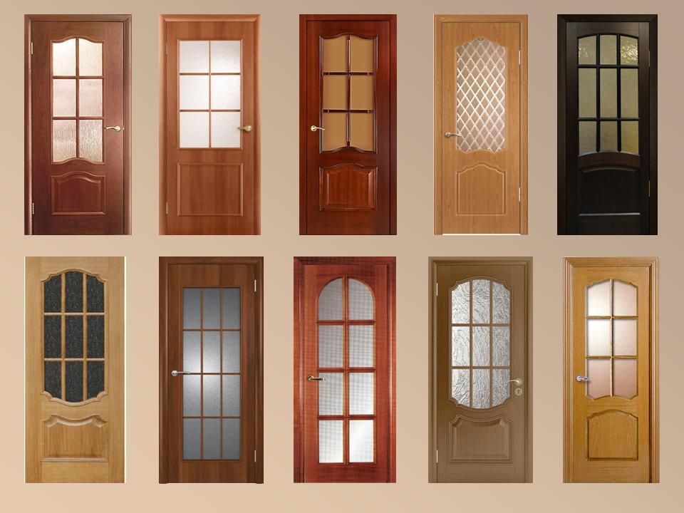 Двери межкомнатные со стеклом