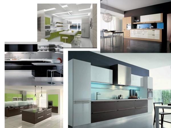 Кухня, стиль минимализм