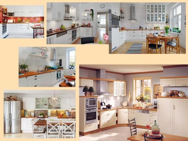 Кухня. Интерьер в скандинавском стиле