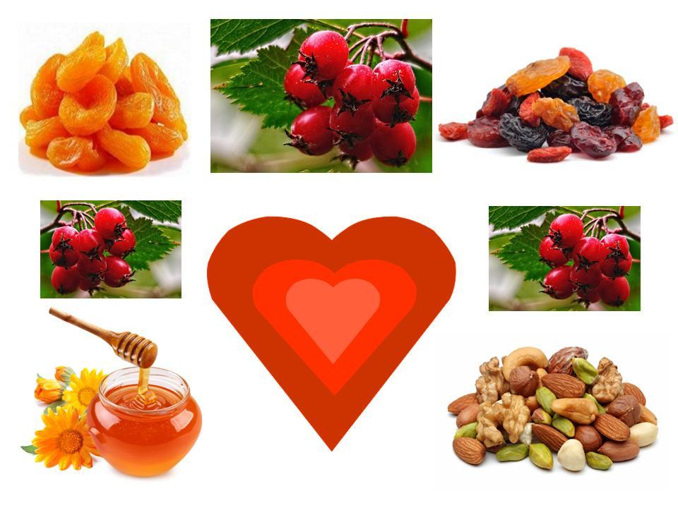 Сердце. Продукты для здоровья сердца
