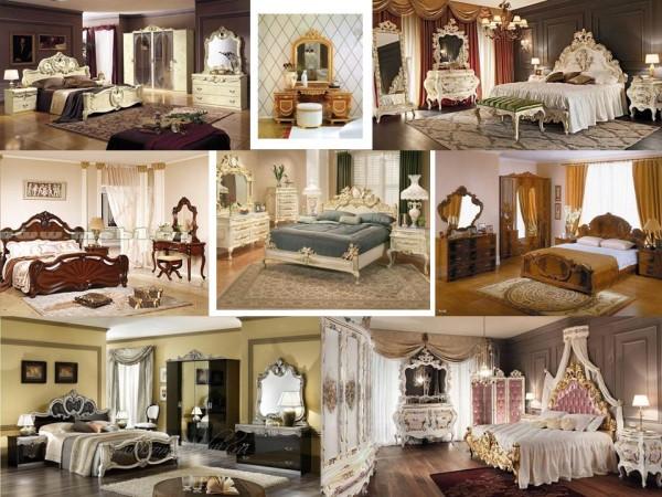 Спальня, стиль барокко
