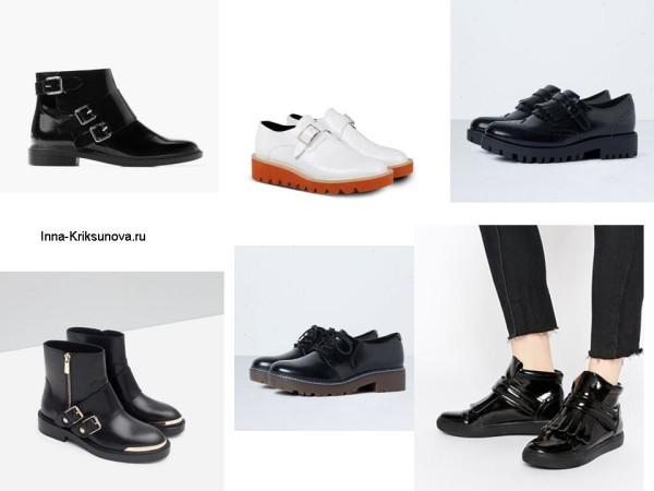 Женская обувь осень 2015