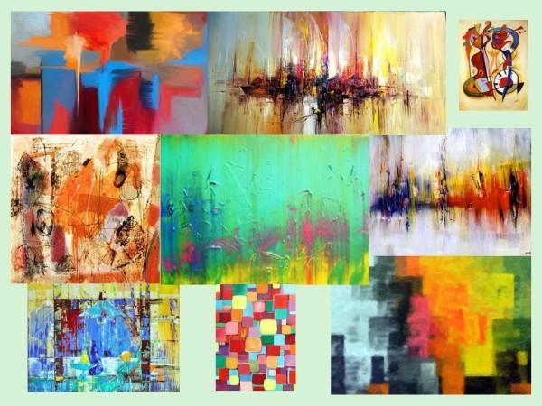 Живопись, абстракция