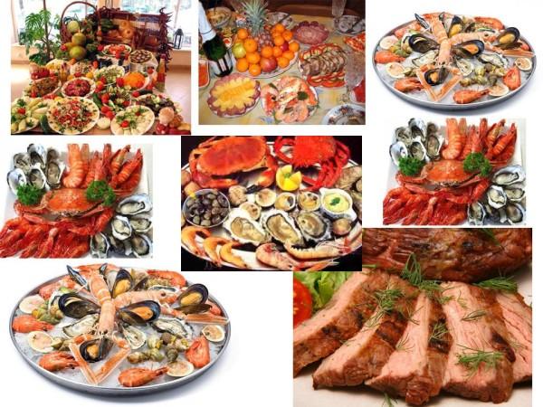 Мясо, морепродукты, афродизиаки