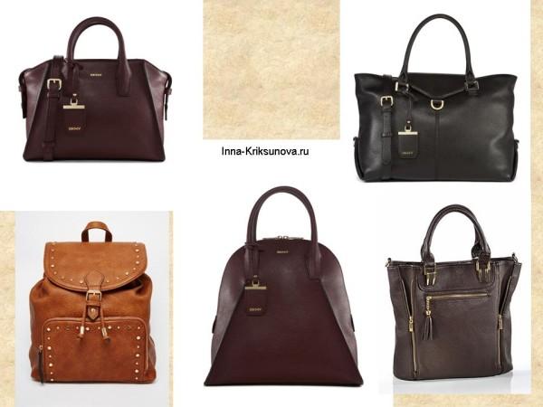 Модные сумки, осень 2015