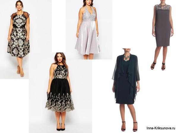 Женские платья, большие размеры