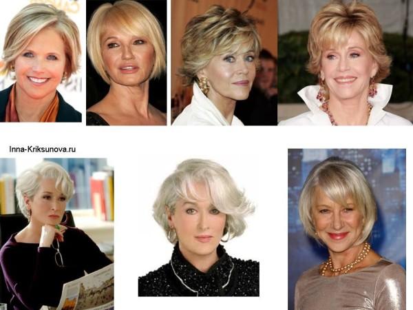 Прически для средних волос для женщин за...