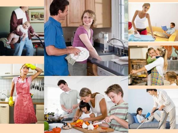Домашние хозяйственные заботы