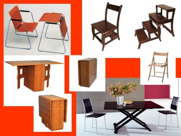 Мебельные трансформеры, столы, стулья