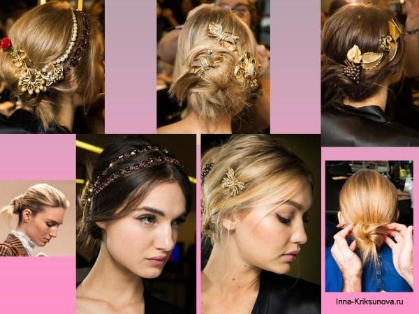 Заколки и украшения для волос 2016