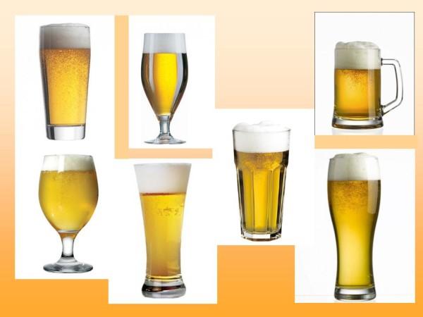Бокалы, стаканы, кружки для пива