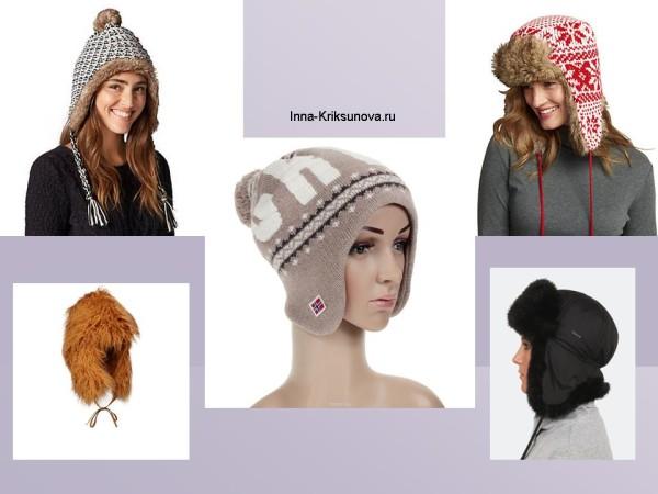 Зимние шапки, мода 2016