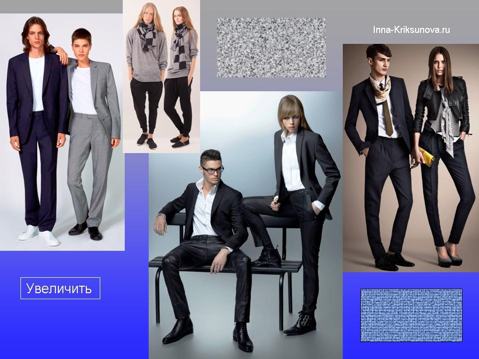 Стиль унисекс в одежде в фотокартинках