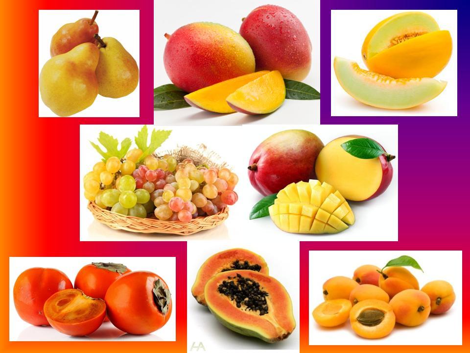 Сладкие фрукты, замена сахара