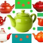 Заварочные чайники цветные