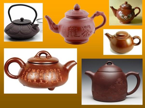 Заварочные чайники, керамика