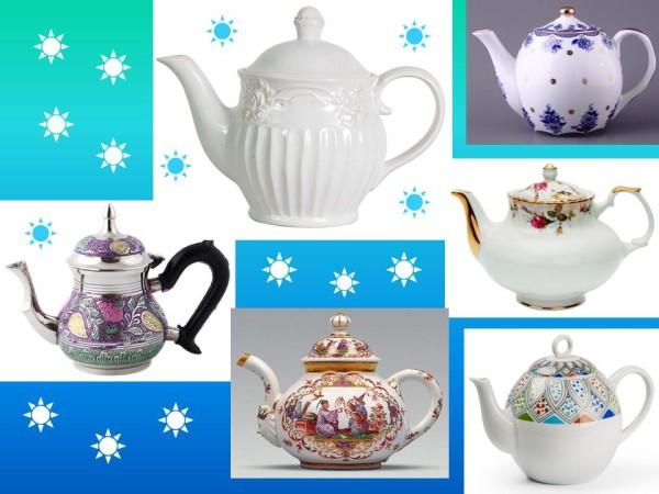 Заварочные чайники, классика
