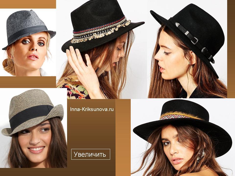Женские шляпы с полями, мода 2016