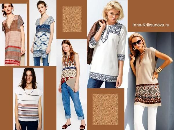 Этнический стиль. Туники, рубашки