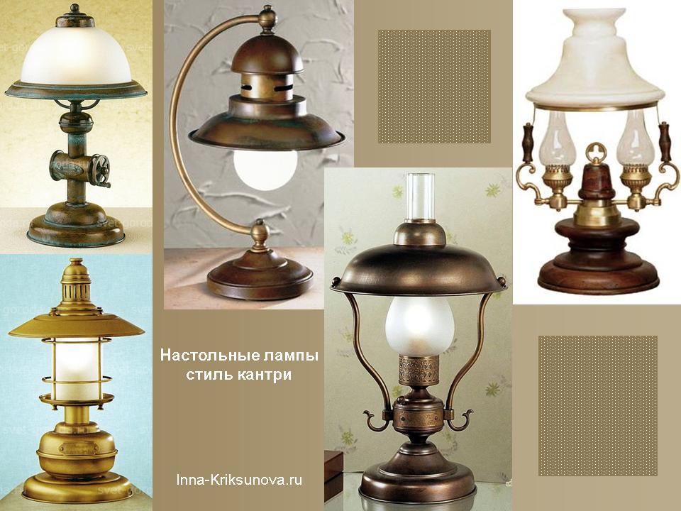 Настольная лампа линза в- tiuru