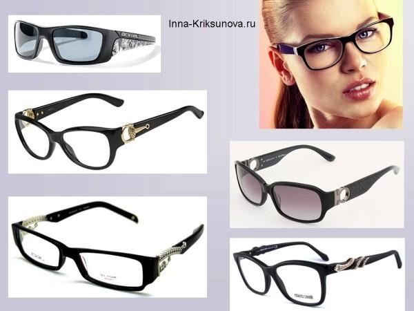 Оправы для зрения, эффектные заушники