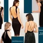 Платья, стиль секси 2017, открытая спина