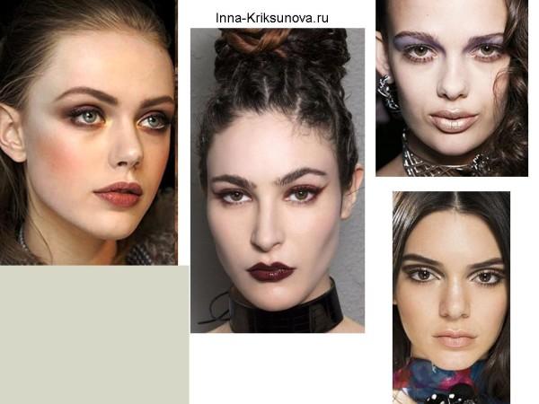 Модный макияж 2017, смоки айс