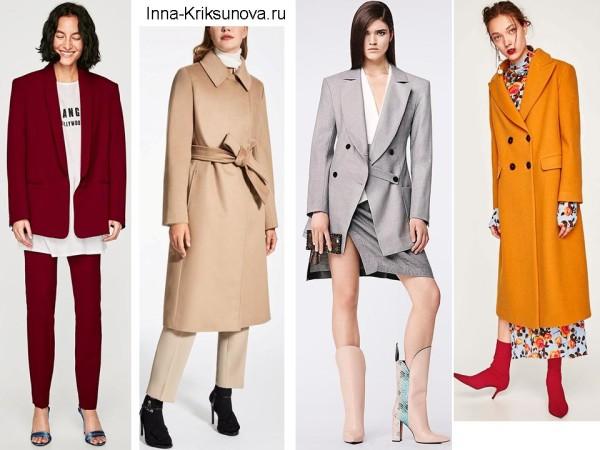Мода 2017: лидеры - строгие пальто и костюмы