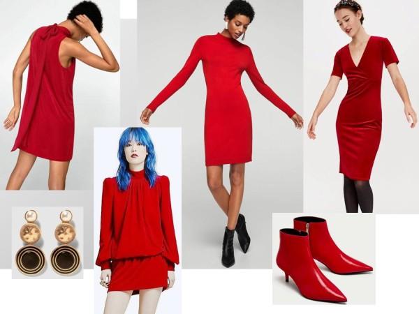 Платья вечерние, секси, красные